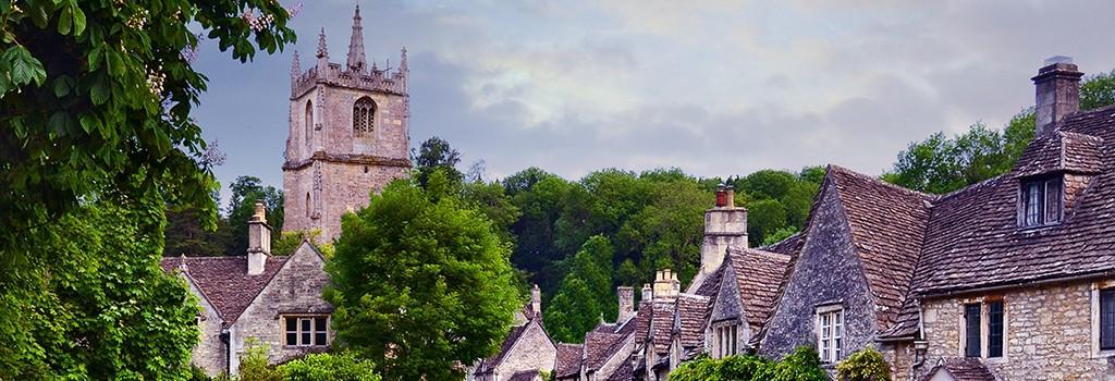 Old English village
